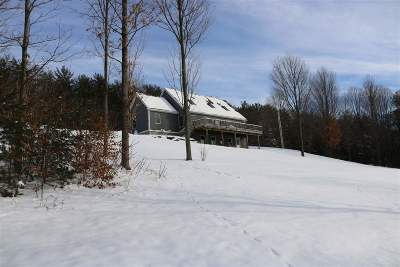 Addison County Single Family Home Active Under Contract: 68 Daigneault Hill Road