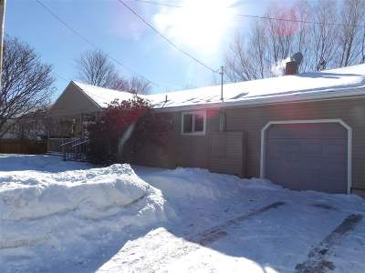 Chittenden County Single Family Home For Sale: 12 Bellevue Street