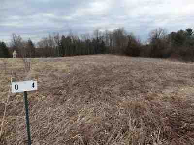 Chittenden County Residential Lots & Land For Sale: 4 Corral Drive