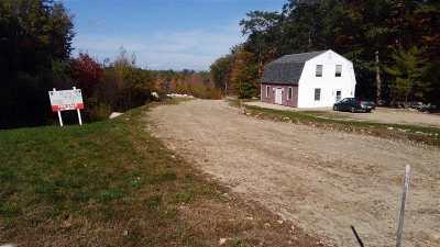 Belknap County Residential Lots & Land For Sale: 182 Frank Gilman Highway (Rt 140) Highway
