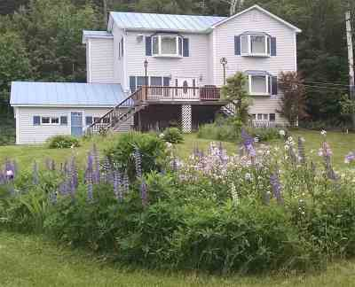 Piermont Single Family Home Active Under Contract: 635 Nh Route 25c