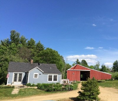 Strafford Single Family Home Active Under Contract: 56 Barn Door Gap Road