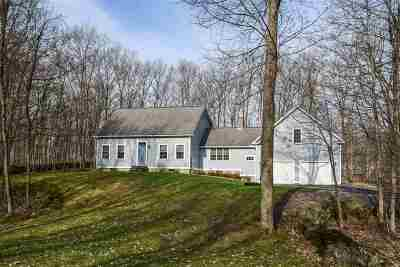 Single Family Home For Sale: 1186 Halladay Road