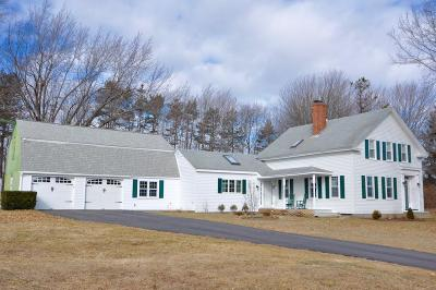 Single Family Home Active Under Contract: 163 Stratham Heights Road