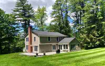 Hanover NH Single Family Home For Sale: $1,100,000