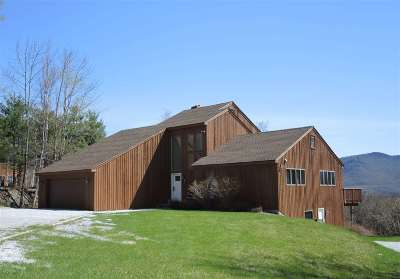 Chittenden Single Family Home For Sale: 22 Mountain View Road