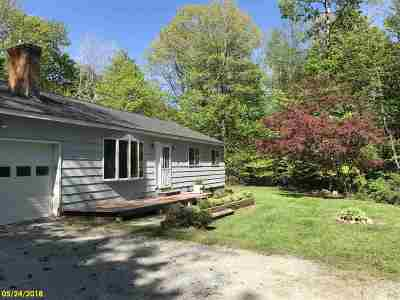 Chittenden Single Family Home Active Under Contract: 8 Beebe Hill Road