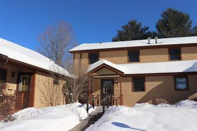 Morristown VT Condo/Townhouse Sold: $140,000
