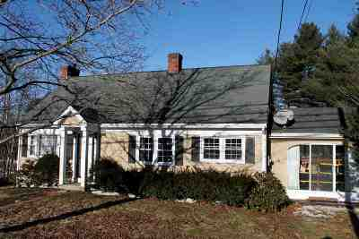 Manchester Single Family Home Active Under Contract: 1021 Goffstown Road