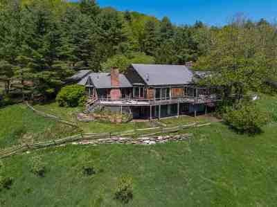 Thetford Single Family Home For Sale: 1534 Gove Hill Road