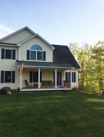 Chittenden County Single Family Home For Sale: 55 Bass Wood Drive