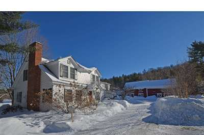 Stowe Single Family Home Active Under Contract: 1386 Pucker Street