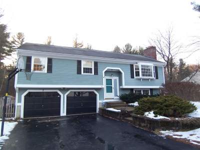 Nashua Single Family Home Active Under Contract: 20 Pioneer Drive