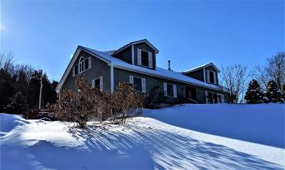 Cambridge Single Family Home Active Under Contract: 7082 Vt Route 15