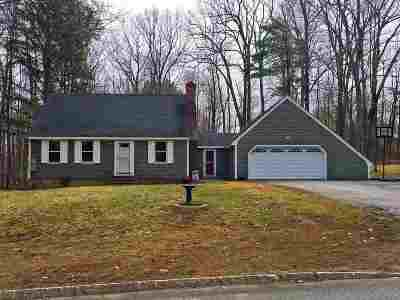 Wolfeboro Single Family Home For Sale: 7 Treadwell Lane