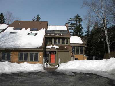 Waterville Valley Condo/Townhouse For Sale: 15 Boulderwood Way #D-2