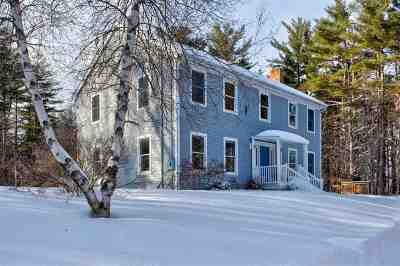 Hanover NH Single Family Home For Sale: $549,500