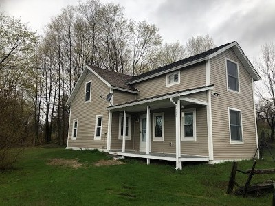 Franklin County Single Family Home For Sale: 2545 Mountain Road