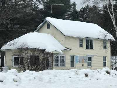 Thornton Single Family Home For Sale: 2635 Us Route 3 Highway