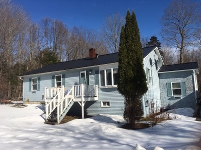 Johnson Single Family Home Active Under Contract: 578 Maple Hill Road