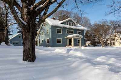 Hanover NH Single Family Home For Sale: $2,395,000