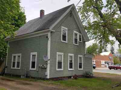 Laconia Multi Family Home For Sale: 25 Strafford Street #2 units