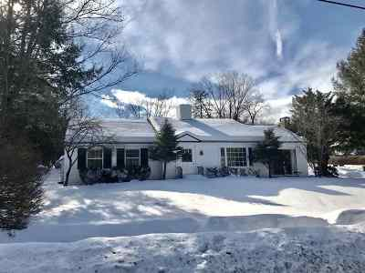 Hanover NH Single Family Home For Sale: $1,150,000
