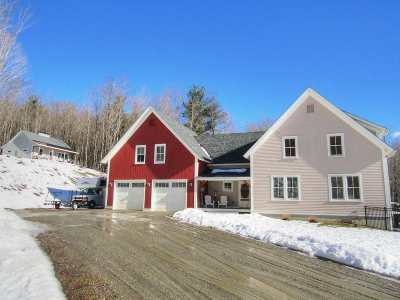 Chittenden County Single Family Home For Sale: 144 Ross Hill