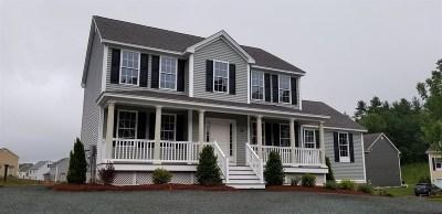 Nashua Single Family Home For Sale: U120 Schwinn Dr Drive #120