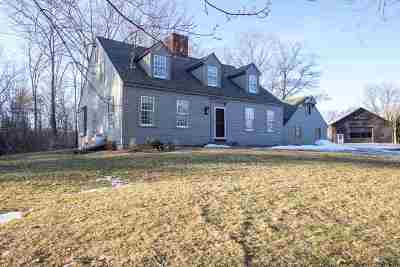 Hopkinton Single Family Home Active Under Contract: 584 Currier Road
