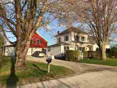 Isle La Motte Single Family Home For Sale: 1553 West Shore Road