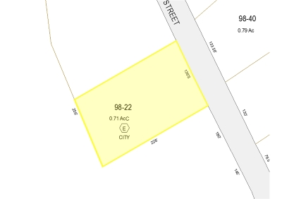 Franklin Residential Lots & Land For Sale: 186 Summit Street