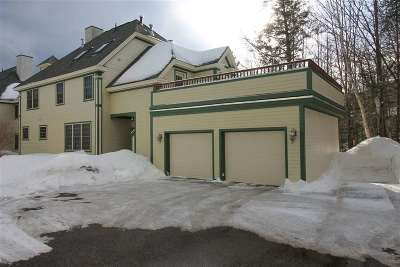 Waterville Valley Condo/Townhouse Active Under Contract: 62-5 Village Road #5