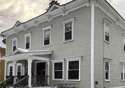 Chittenden County Multi Family Home For Sale: 311 South Union Street
