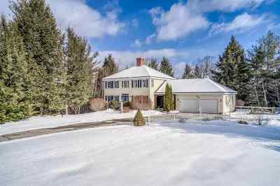 New Boston Single Family Home Active Under Contract: 140 Carriage Road