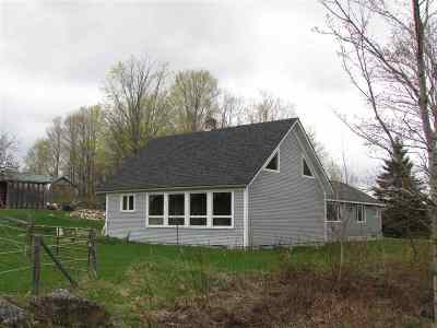 Craftsbury Single Family Home For Sale: 1088 Ketchum Hill Road