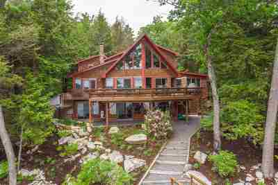 Moultonborough Single Family Home For Sale: 17 Grassy Pond Road