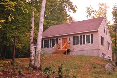 Wolfeboro Single Family Home For Sale: 851 Beach Pond Road