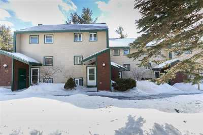 Cambridge Condo/Townhouse For Sale: 4323 Vermont Route 108 Highway #C-26