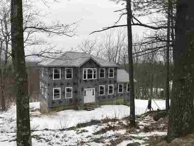 Henniker Single Family Home Active Under Contract: 186 Mt. Hunger Road #lot 645
