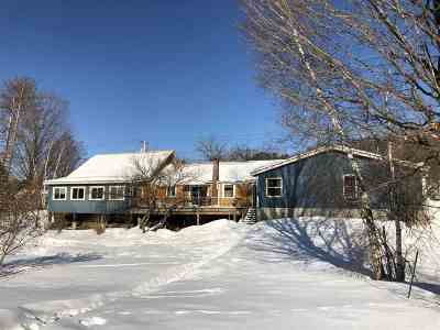 Morristown VT Single Family Home For Sale: $219,500