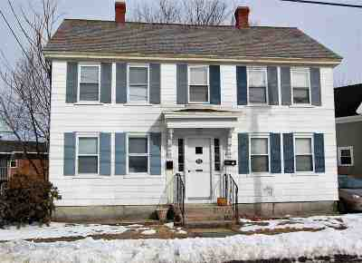 Manchester Multi Family Home Active Under Contract: 764 Summer Street