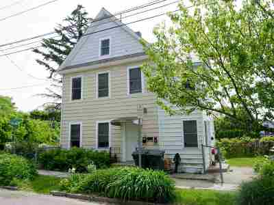 Chittenden County Multi Family Home For Sale: 33 Washington Street