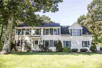 Hooksett Single Family Home Active Under Contract: 23 Gailor Lane