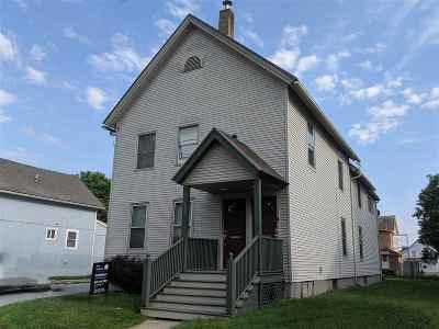 Rutland, Rutland City Multi Family Home For Sale: 138 Maple Street