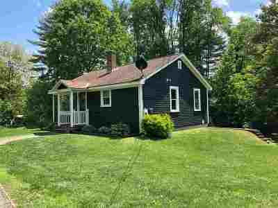 Hanover NH Single Family Home For Sale: $369,000