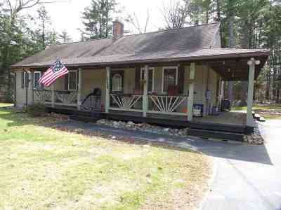Sanbornton Single Family Home For Sale: 116 Hermit Lake Road
