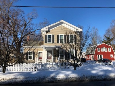 Poultney Single Family Home For Sale: 202 Bentley Avenue