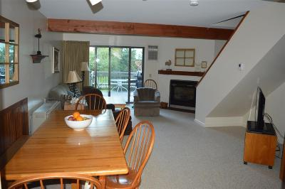 Cambridge Condo/Townhouse For Sale: Telemark 5 At Smugglers' Notch Resort
