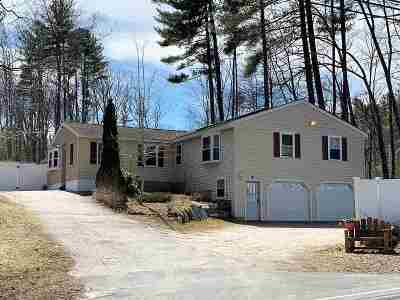 Merrimack Single Family Home Active Under Contract: 162 Amherst Road